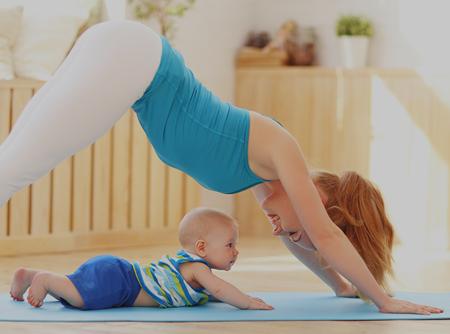 Yoga Postnatal - <p>Plus d'1h30 de Yoga Postnatal en ligne (Yoga après grossesse)</p> |
