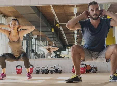 Entrainement HIIT: Fat Burner (1/2) - Plus d'1h30 de cours de fitness en ligne pour débuter l'entrainement HIIT |