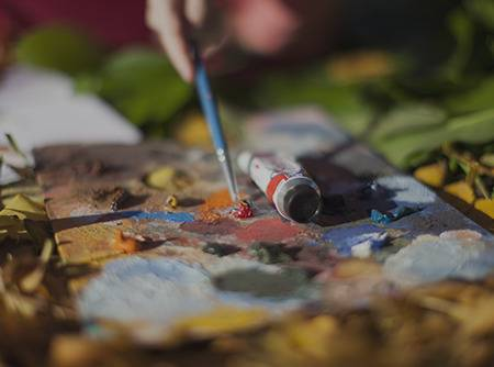 Peinture : le Matériel - Apprendre à choisir son matériel de peinture et organiser son atelier de peinture |
