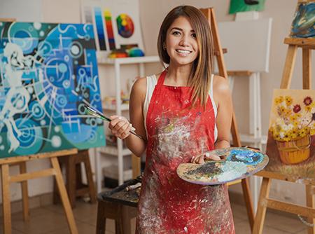 Peindre avec textures et pigments métalliques - <p>Libérer votre créativité grâce aux textures</p> |