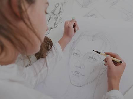 Dessiner des portraits : Techniques avancées - Apprendre à dessiner un portrait élaboré en moins 1h30 de vidéo |
