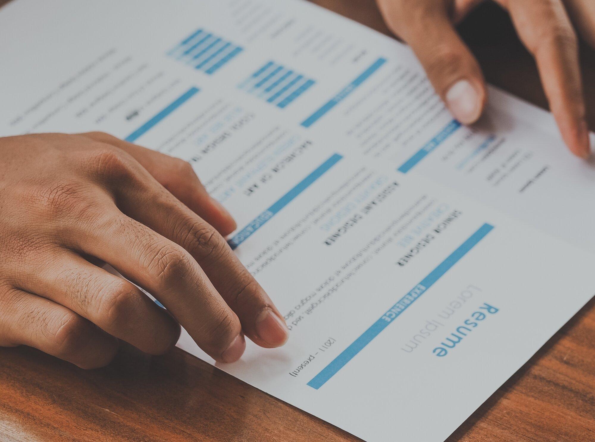 Rédiger un CV efficace
