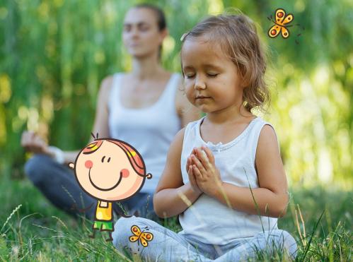 Yoga pour enfants (6-12 ans) - <p>Apprendre le yoga en s'amusant</p>