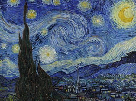 Peindre à la manière de Van Gogh