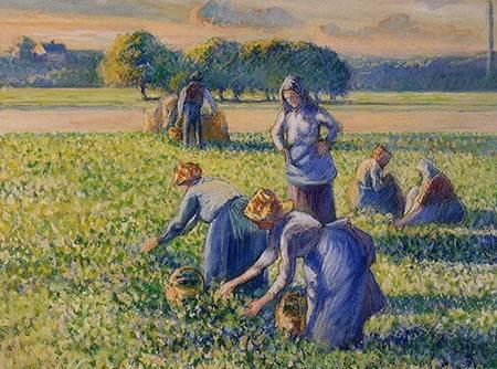 Peindre à la manière de Pissarro - Entre impressionnisme et pointillisme |