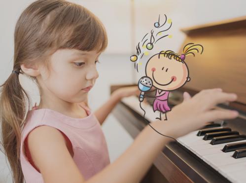 Piano pour enfants (6-12 ans) - <p>Apprendre le piano en s'amusant&nbsp;</p> |