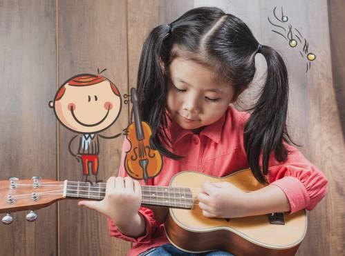 Ukulélé pour enfants (6-12 ans) - Apprendre le ukulélé en s'amusant  