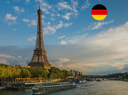 Français - Express (en Allemand) - <p>Apprendre le Français en ligne depuis l'Allemand (débutant)</p> |