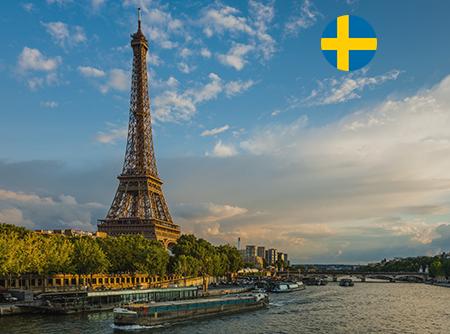 Français - Express (en Suédois) - <p>Apprendre le Français en ligne depuis le Suédois (débutant)</p> |