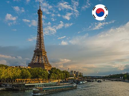 Français - Express (en Coréen) - <p>Apprendre le Français en ligne depuis le Coréen (débutant)</p> |