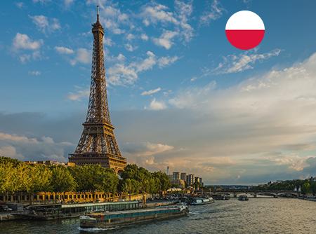 Français - Express (en Polonais) - <p>Apprendre le Français en ligne depuis le Polonais (débutant)</p> |