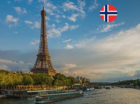 Français - Express (en Norvégien) - Apprendre le Français en ligne depuis le Norvégien (débutant) |