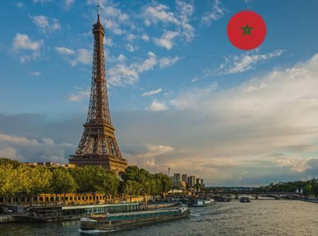 Français - Express (en Arabe marocain) - Apprendre le Français en ligne depuis l'Arabe (marocain) (débutant) |