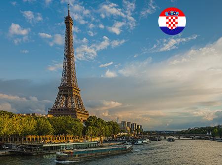 Français - Express (en Croate) - <p>Apprendre le Français en ligne depuis le Croate (débutant)</p> |