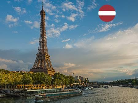 Français - Express (en Letton) - Apprendre le Français en ligne depuis le Letton (débutant) |