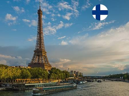Français - Express (en Finnois) - Apprendre le Français en ligne depuis le Finnois (débutant) |
