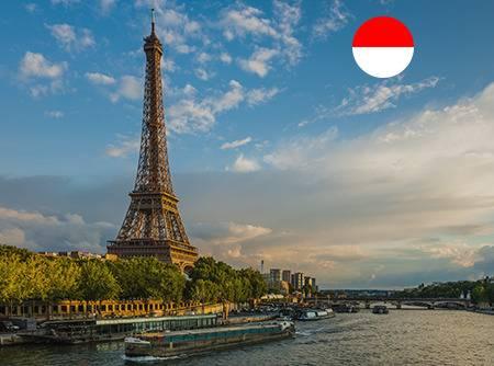 Français - Express (en Indonésien) - Apprendre le Français en ligne depuis l'Indonésien (débutant) |