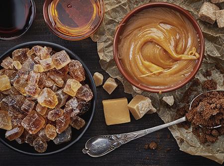 Pâtisserie : Travail du sucre et de la pâte d'amande