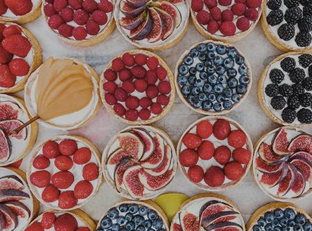 Pâtisserie : Autour des Tartes - <p>Varier les plaisirs avec les nombreuses recettes de tartes sucrées</p> |
