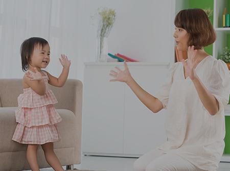 Langue des Signes Française : communiquer avec Bambin (1/2 ans)
