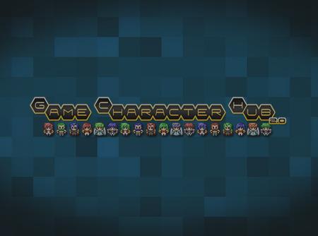 Game Character Hub : Créer ses Personnages en Pixels 2D