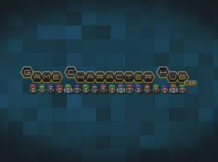 Game Character Hub : Créer ses Personnages en Pixels 2D - Personnaliser son jeu vidéo |