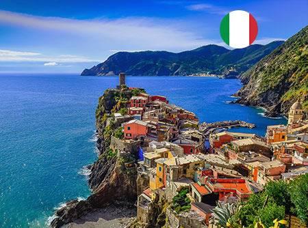 Italien A2 - Apprendre l'italien en ligne, niveau pré-intermédiaire (A2) |