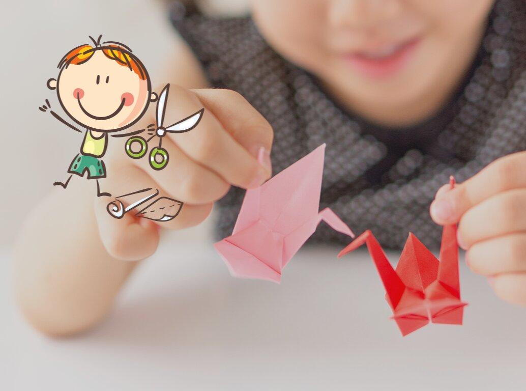 Origami pour enfants : les Marionnettes (6-12 ans)
