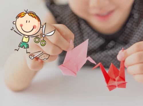 Origami pour enfants : les Marionnettes (6-12 ans) - <p>Apprendre l'Origami en s'amusant</p> |