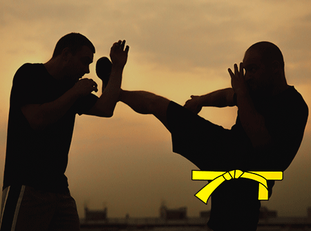 Krav Maga : Ceinture jaune - Apprendre les techniques de self défense pour passer ceinture jaune |
