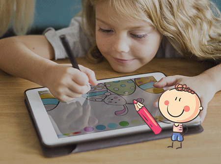 Kids Cartoon Maker : Dessin numérique pour enfants (6-12 ans)