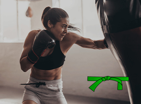 Krav Maga : Renforcement et réflexes (ceinture verte)