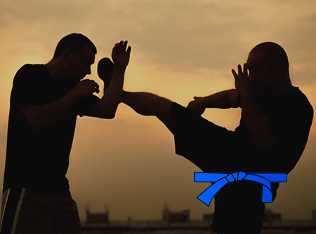 Krav Maga : Ceinture bleue - Apprendre à parer une attaque au couteau |
