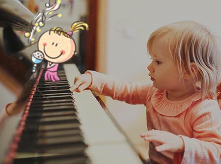 Piano pour enfants (0-6 ans) - Apprendre le solfège et le piano à ses enfants  