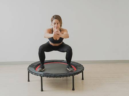 Jumping Fitness trampoline - Sauter sur ses calories |