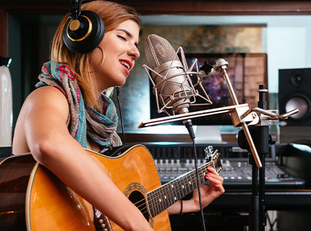 Enregistrer sa voix et ses instruments de musique