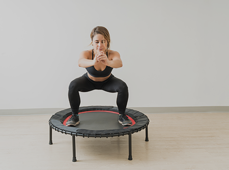 Jumping Fitness Trampoline - Niveau 2 - Perdre des calories avec le Jumping Fitness Trampoline - Intermédiaire |