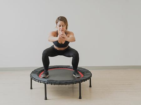 Jumping Fitness Trampoline - Niveau 3 - Perdre des calories avec le Jumping Fitness Trampoline - Avancé |