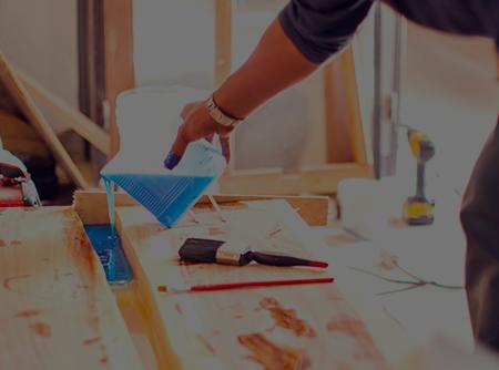 Menuiserie : Fabriquer une table rivière - Apprendre à fabriquer une table en résine époxy |